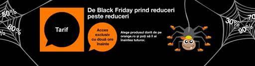 Orange lansează campania Black Friday 2016