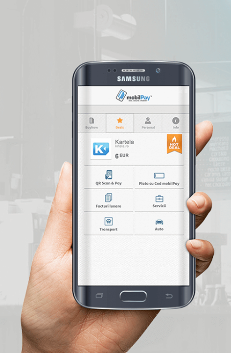 Aplicatia MobilPay Wallet