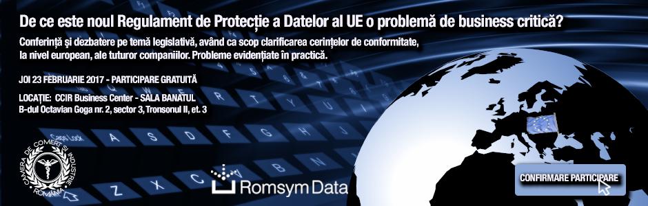 De ce este noul Regulament de Protecție a Datelor al UE o problemă de business critică?