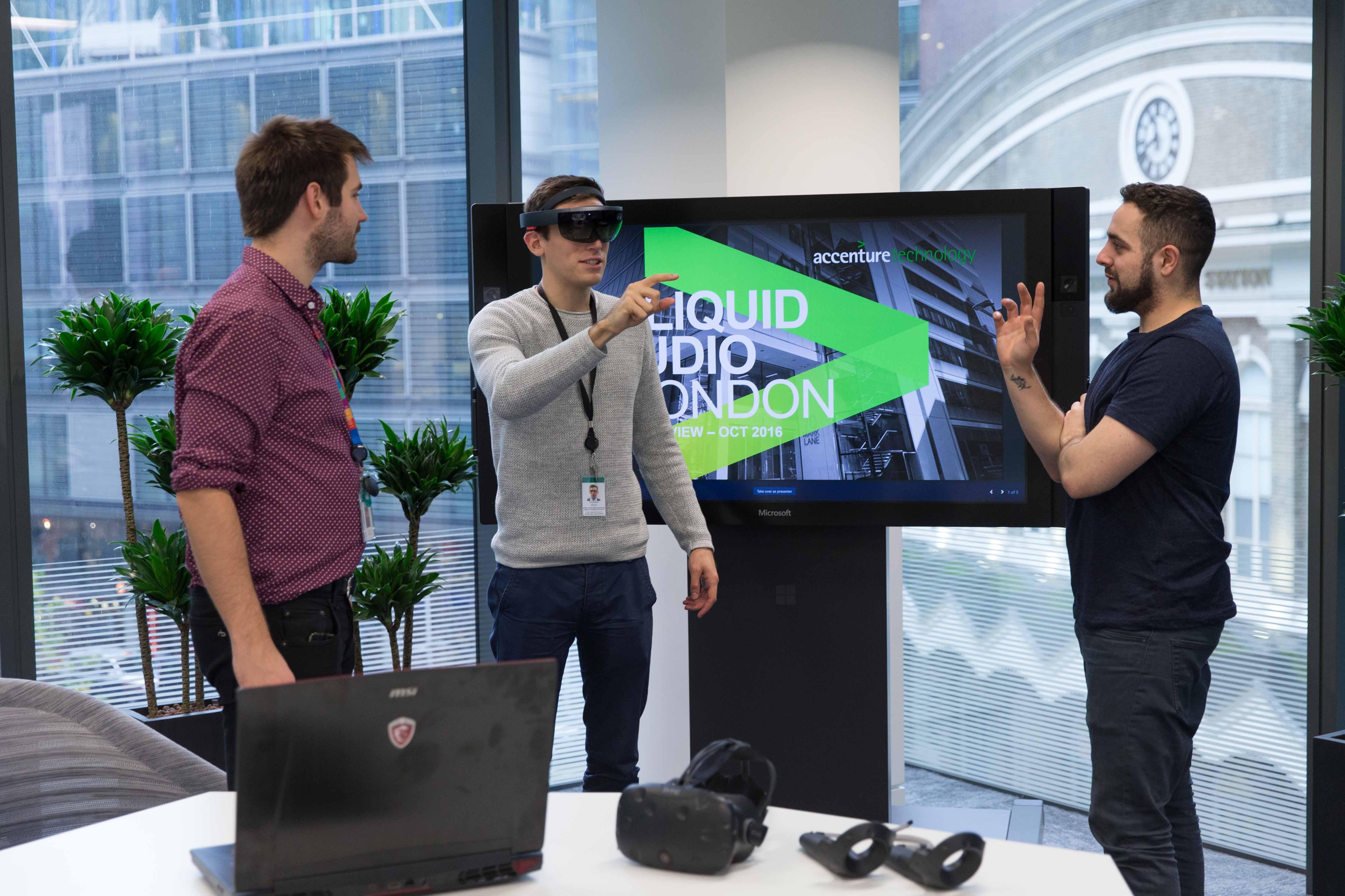 Accenture lansează Liquid Studio în Londra ca să accelereze  transformarea digitală a afacerilor