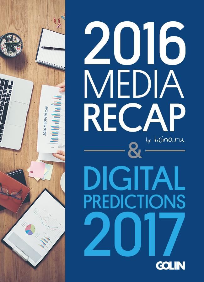 Golin & bloggerul Alex Ciucă (Hoinaru) lansează cea de-a VI-  a ediție a raportului Media Recap & Digital Predictions