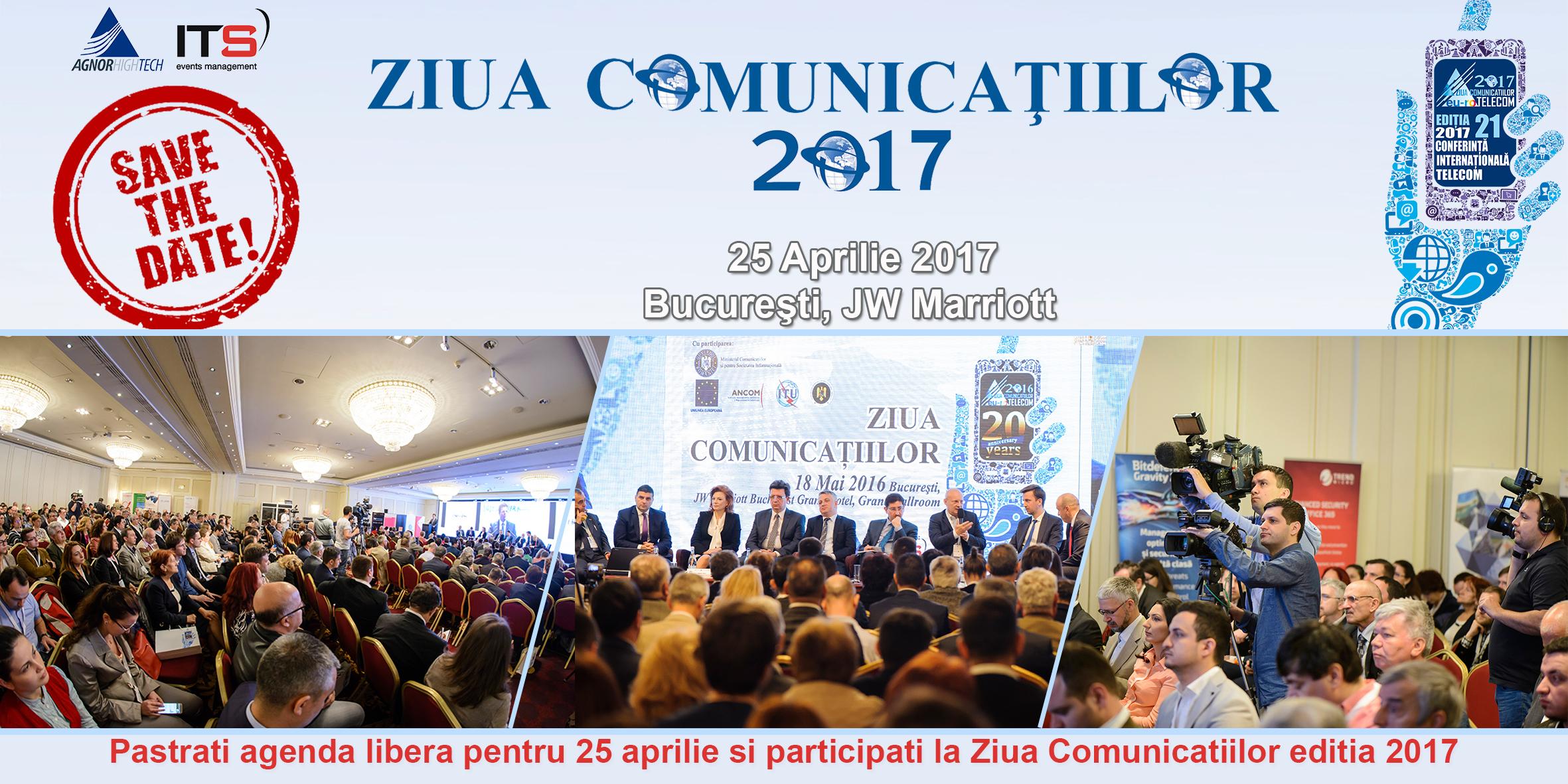 2017 aduce transformarea digitală pe scenă la Ziua Comunicaţiilor