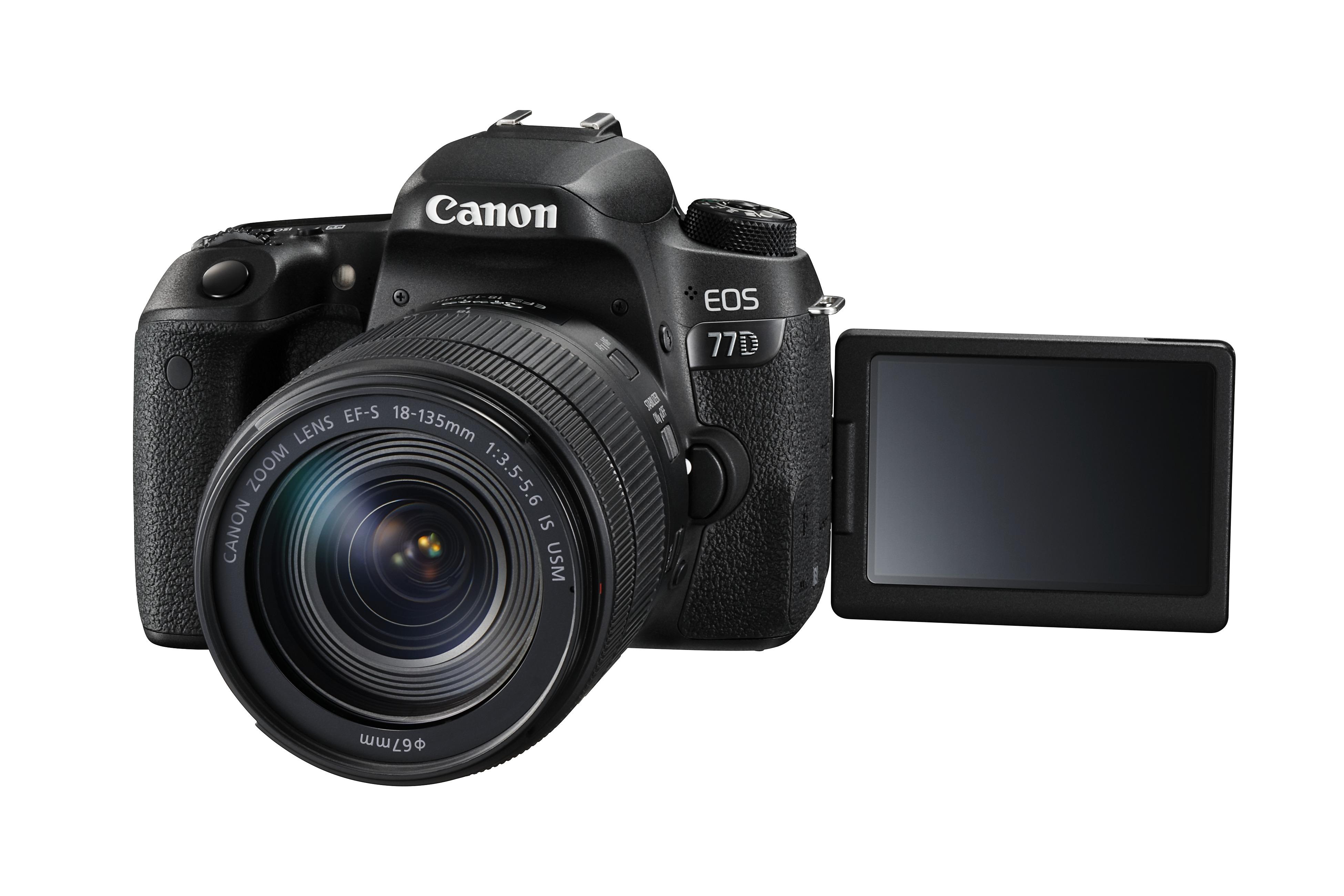 Calitatea atinge cel mai înalt nivel cu noile aparate foto DSLR – EOS 77D şi EOS 800D, şi obiective de la Canon