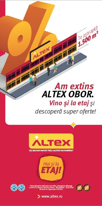 Reamenajare magazin Altex Bucur Obor