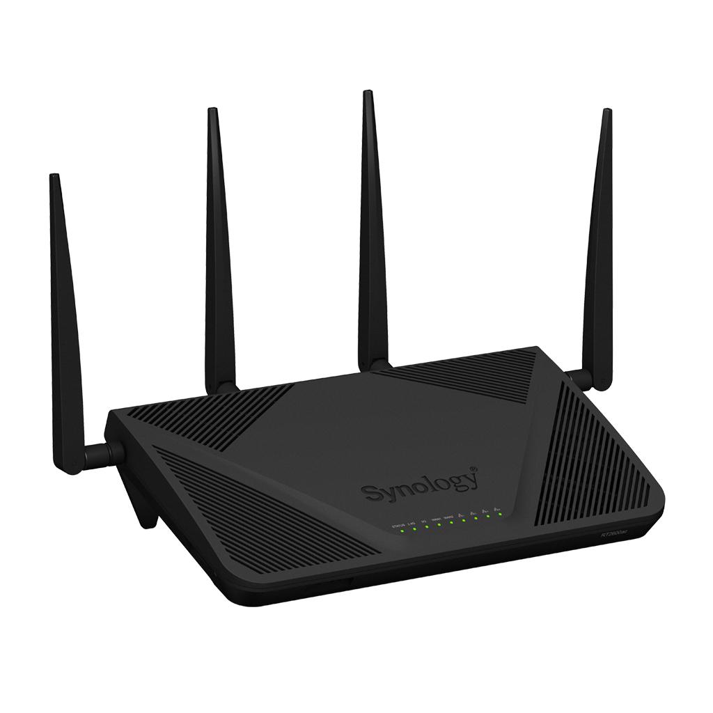 Synology anunta disponibilitatea noului sau router wireless, model RT2600ac