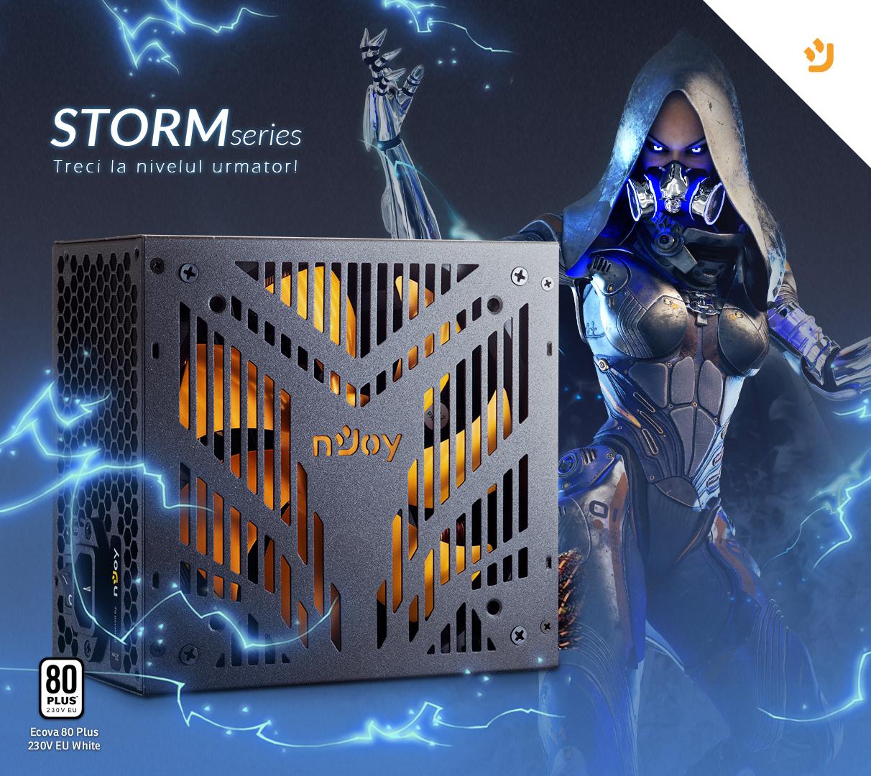 Noua serie de surse Storm