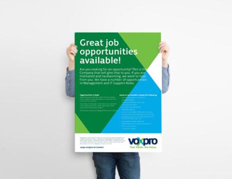 Voxpro deschide un birou în București și 150 de joburi