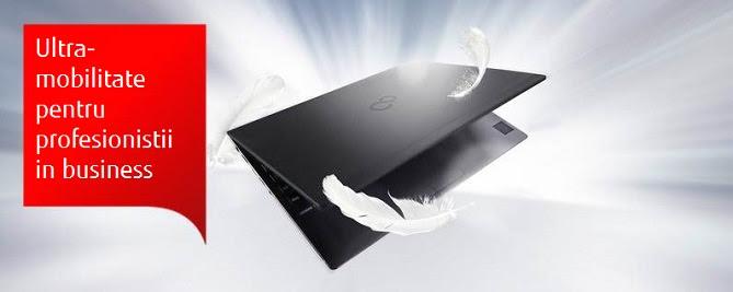 Mobilitate cu doua noi modele de notebookuri LIFEBOOK