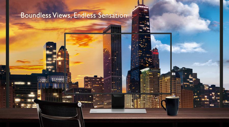 Monitorul capabil să-şi regleze automat luminozitatea şi temperatura de culoare