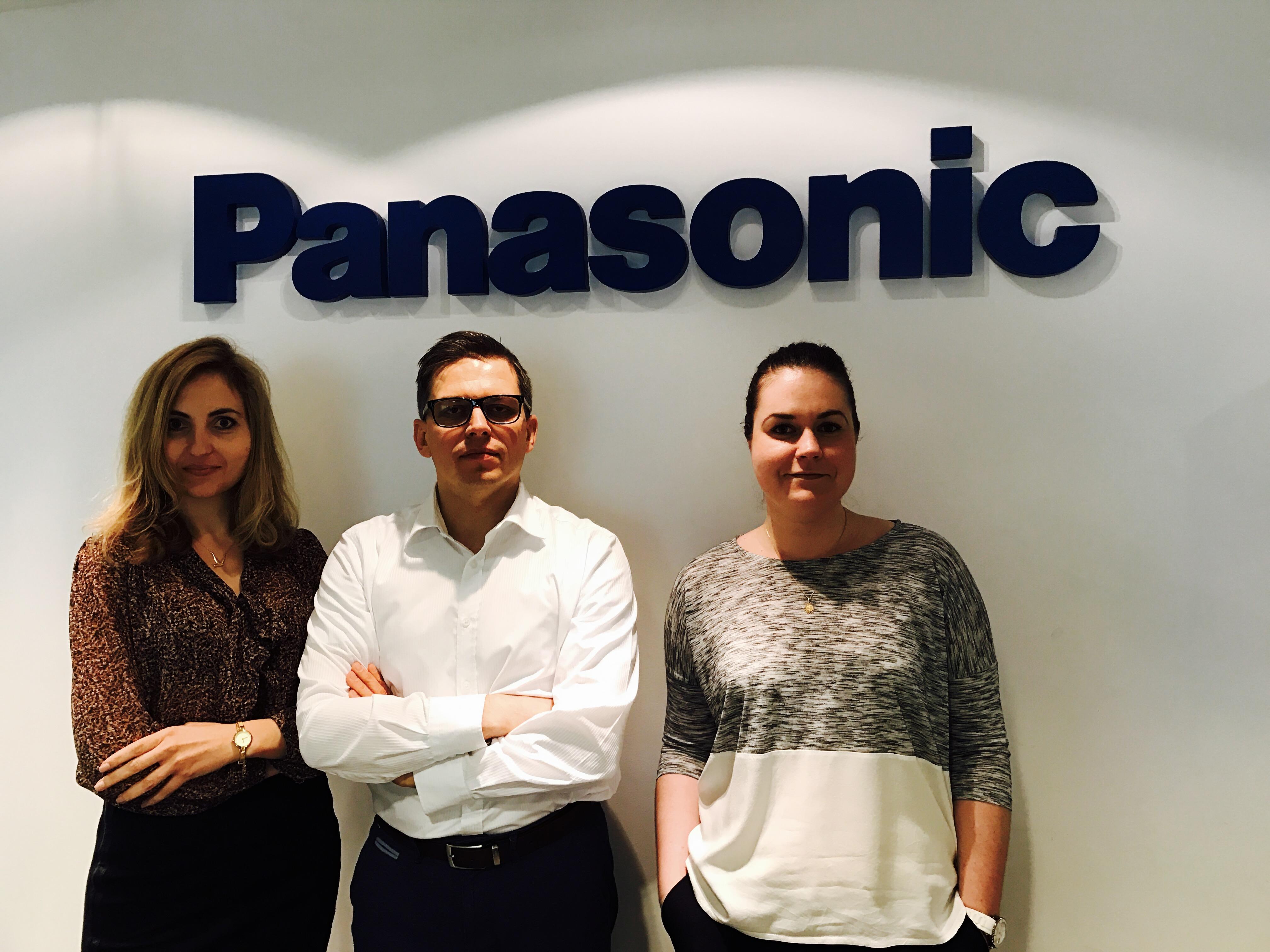 Departament nou și produse excepționale  marca Panasonic