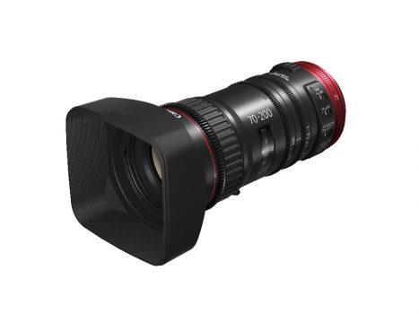 Canon completează gama de obiective cine-servo de format mare