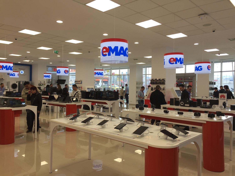 eMAG deschide showroom la Sibiu