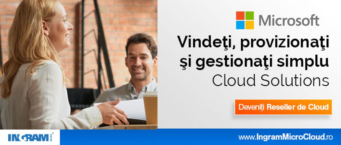 Noul distribuitor de soluţii Microsoft Cloud pentru România și  Bulgaria este Ingram Micro