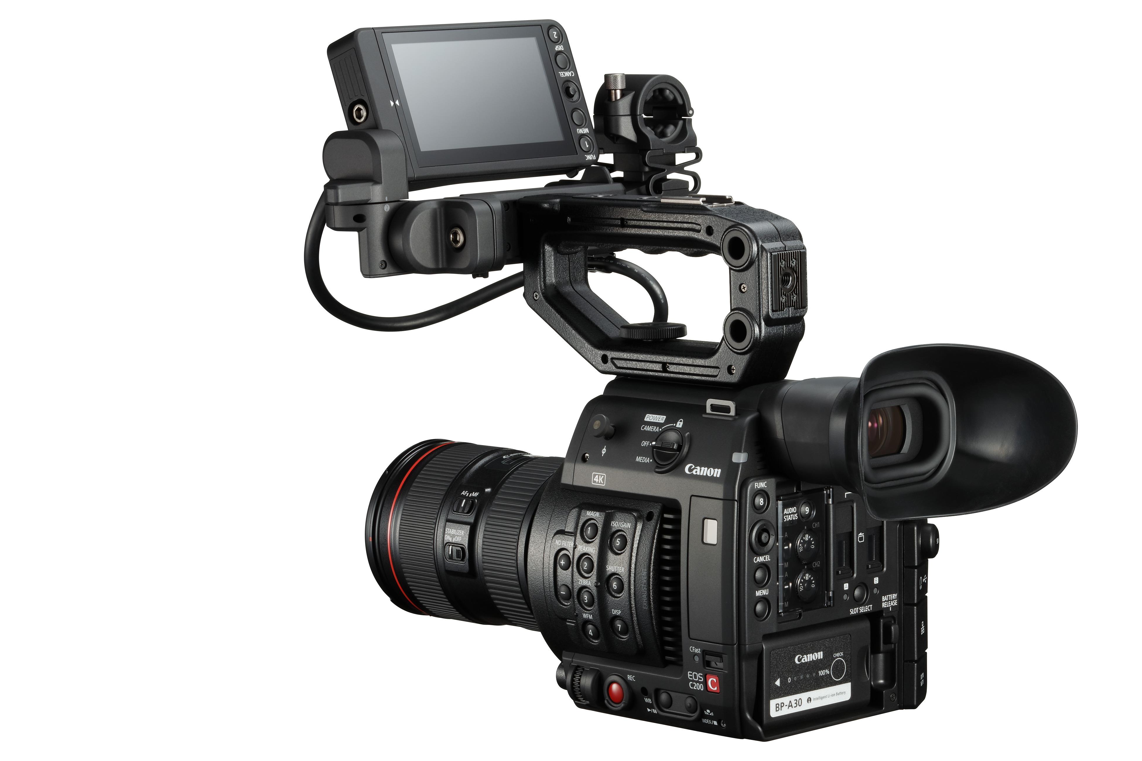 Canon EOS C200, noua cameră video EOS Cinema 4K compactă