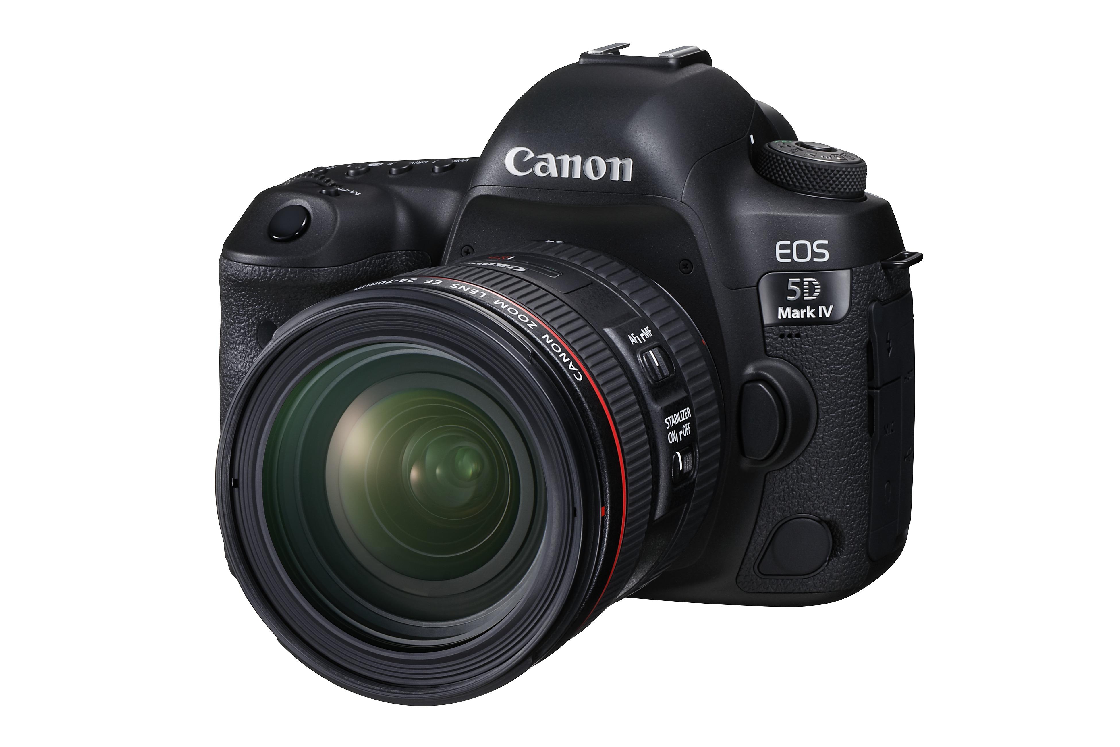 Canon prezintă o actualizare de service pentru EOS 5D Mark IV