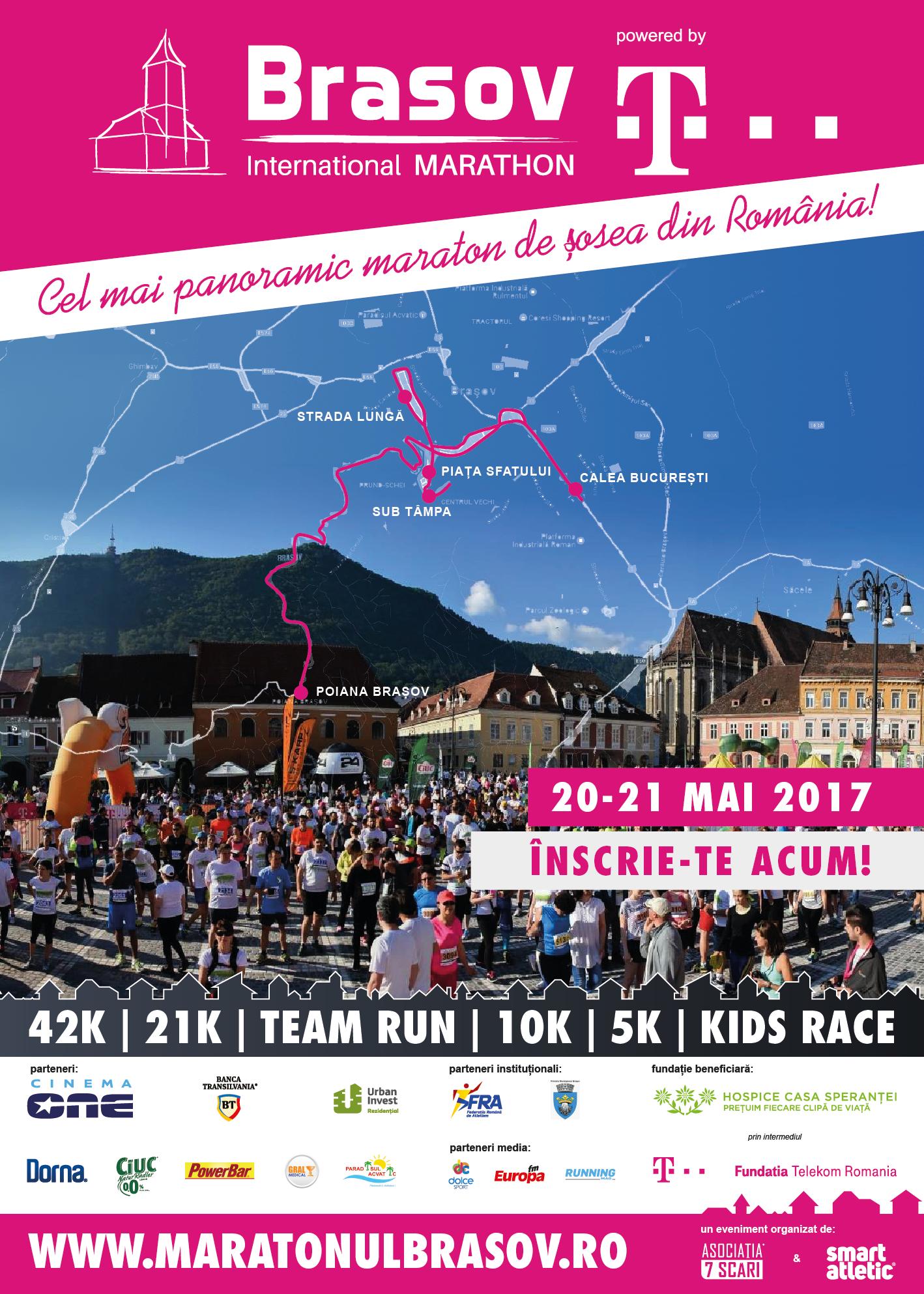 poster Brasov International Marathon 2017