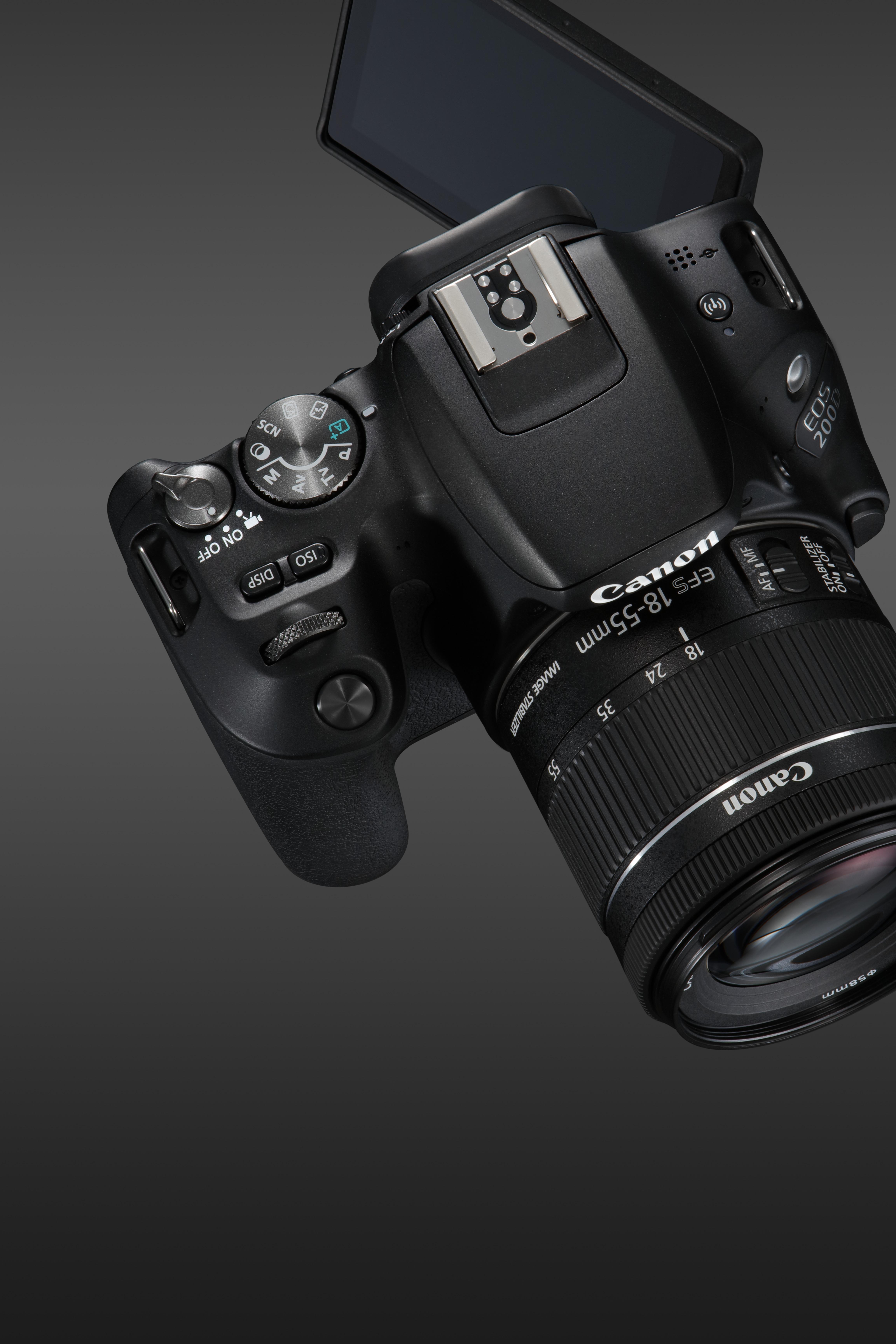 Cel mai nou DSLR, modelul Canon EOS 200D