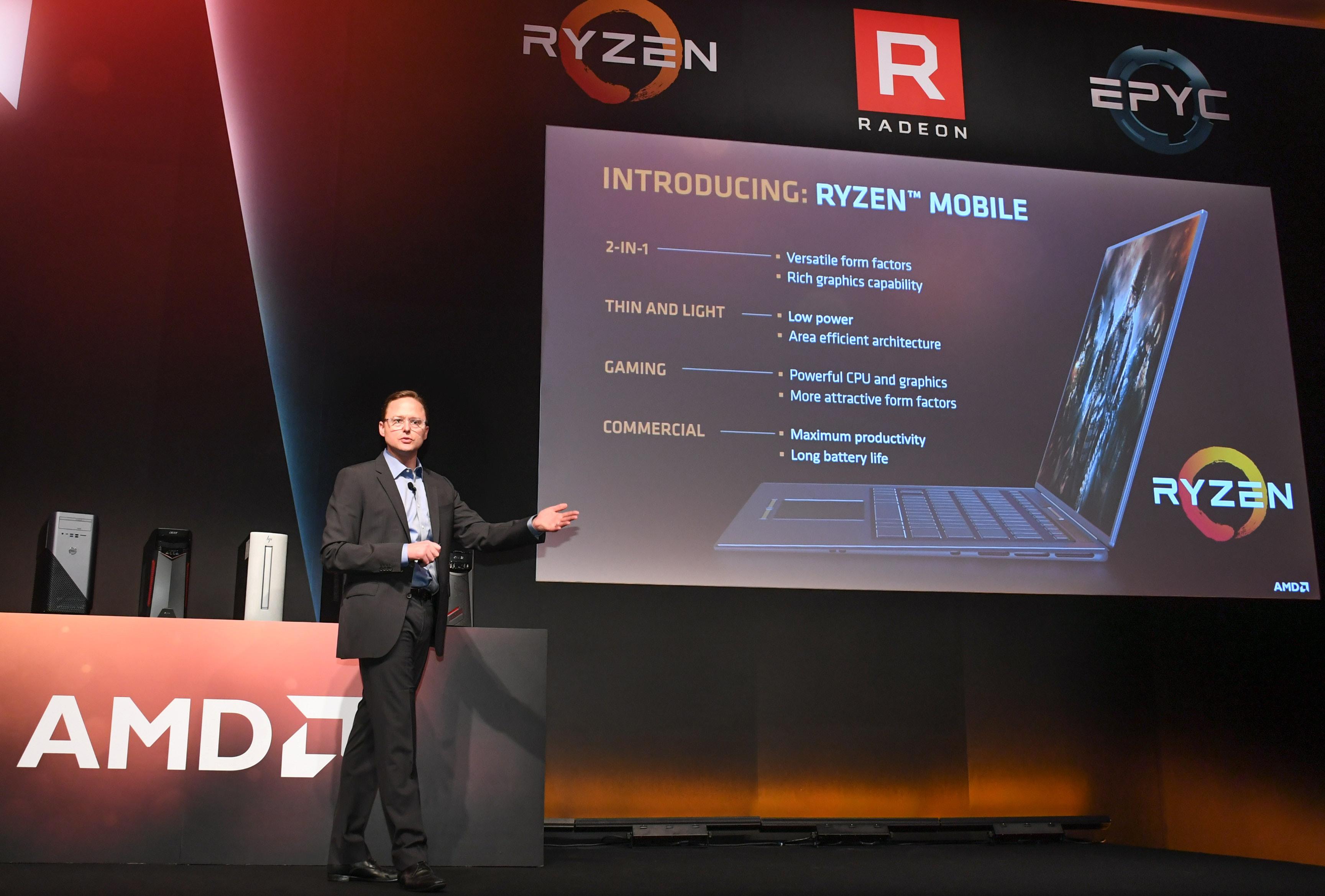 COMPUTEX 2017: AMD a prezentat calendarul urmatoarelor lansari si noi produse pentru toate segmentele de piata