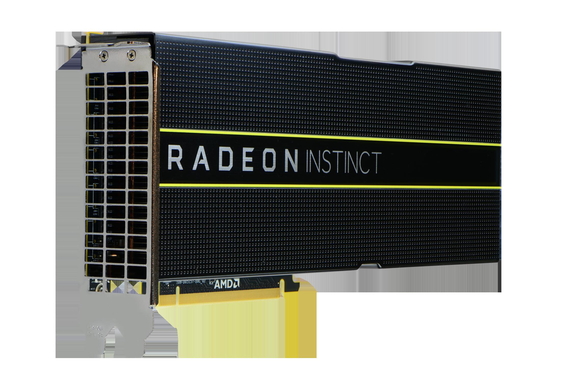 Masini Inteligente: Acceleratoarele Radeon Instinct cu HBM2 ECC