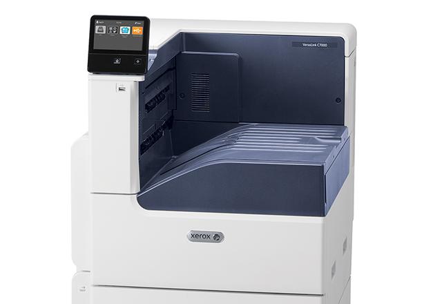 Xerox VersaLink C7000 creste productivitatea din birouri prin optimizari de software si hardware