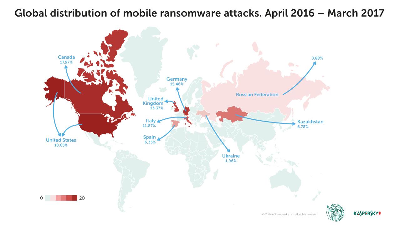 Programele ransomware pentru dispozitive mobile: o amenințare în creștere pe piețele dezvoltate 29 iunie 2017
