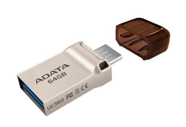Noile memorii USB: ADATA UC360 si UC370