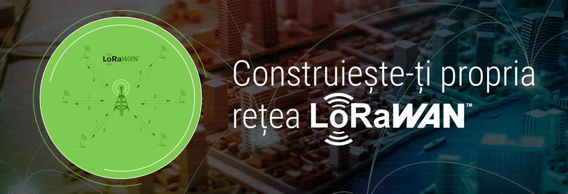 Prima retea publica LoraWan pentru dezvoltarea proiectelor IoT