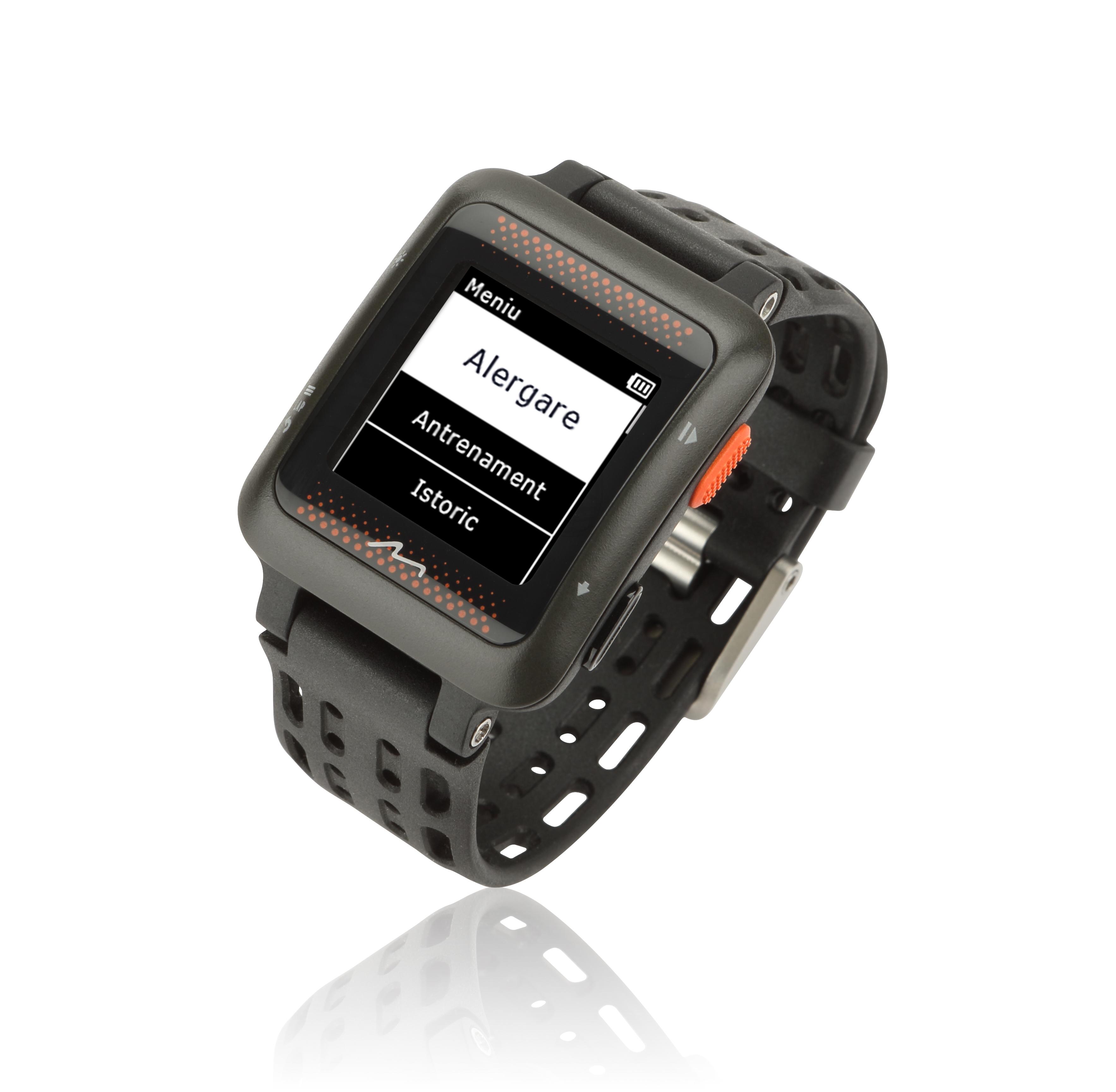 MiVia Run 350, ceasul cu GPS și monitor de ritm cardiac integrat