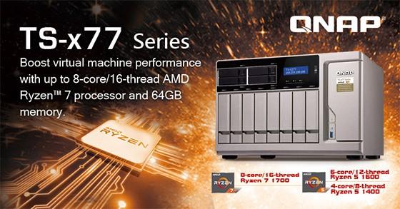 Primul server NAS cu procesor AMD Ryzen