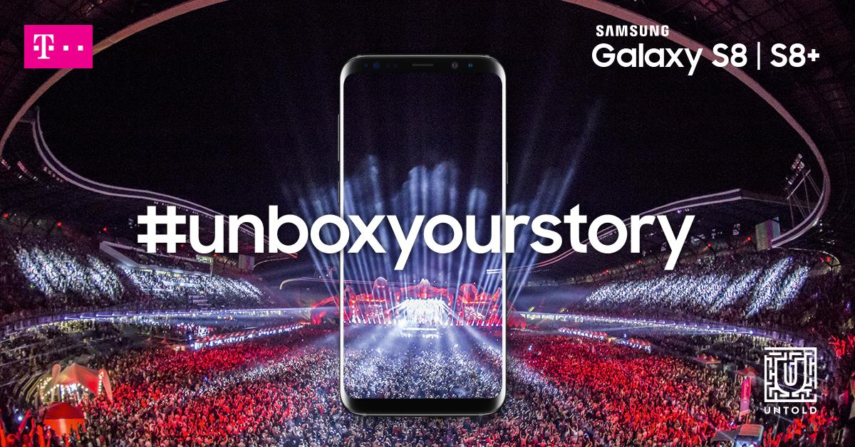 Telekom si Samsung Romania anunta principalele activari din cadrul UNTOLD 2017
