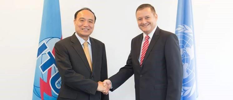 Conducerea ANCOM s-a intalnit cu inaltii oficiali ai Uniunii Internationale a Telecomunicatiilor (UIT)