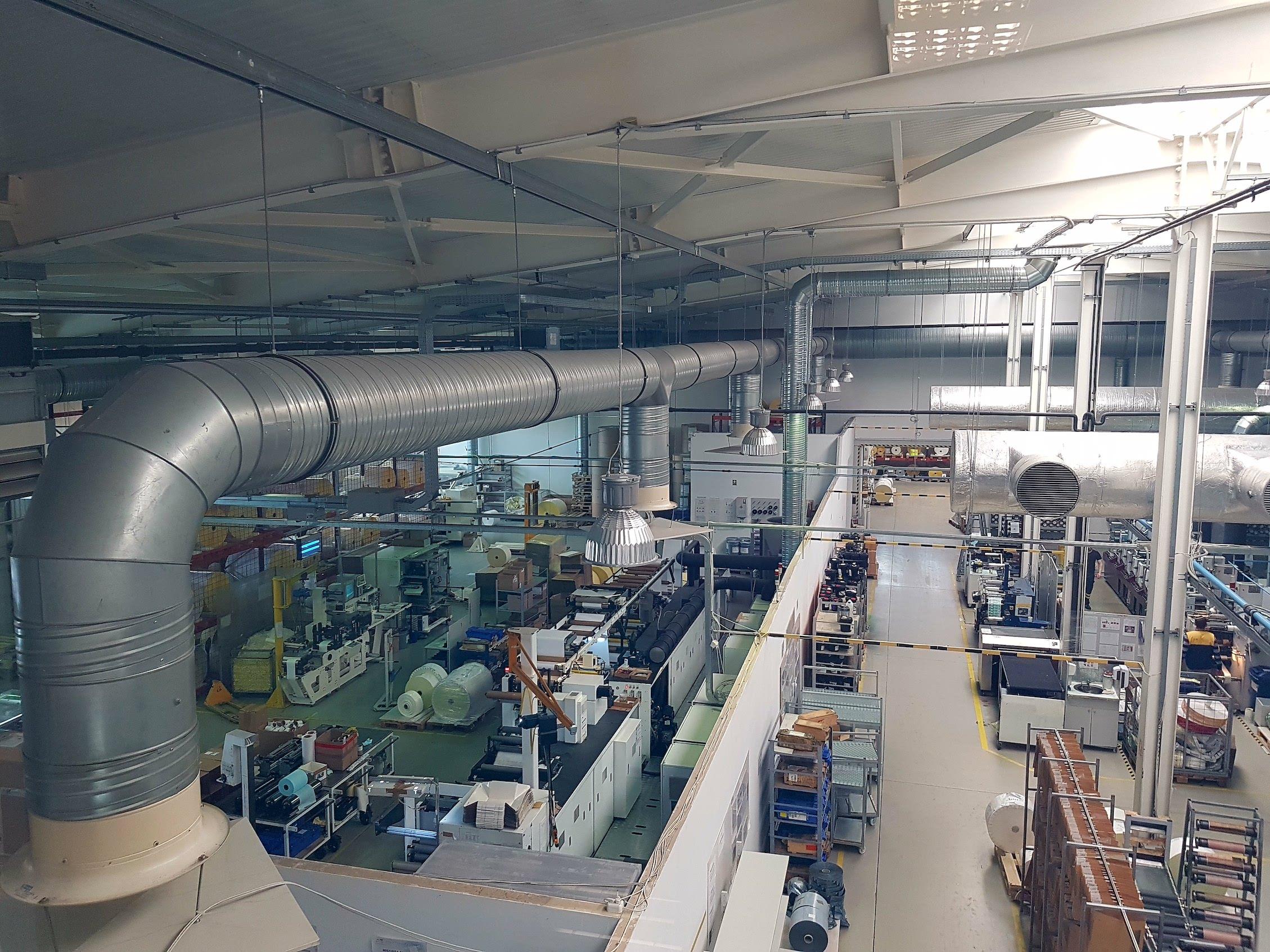 Productie mai sigura la Sunimprof Rottaprint din Cluj cu ajutorul camerelor Axis