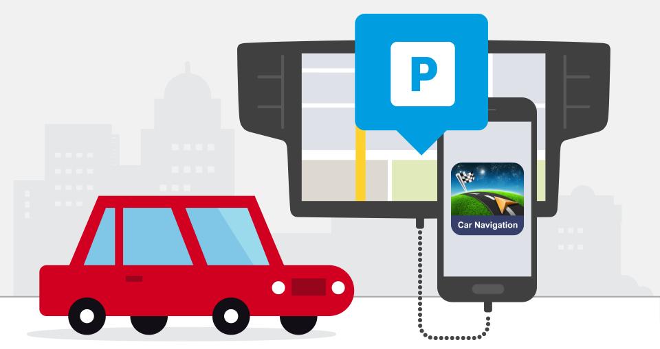 Găsirea unui loc de parcare în orașele mai mari