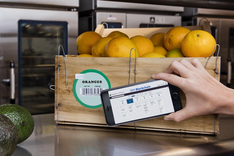 Securizarea lanţului de producţie-desfacere alimente cu tehnologia blockchain