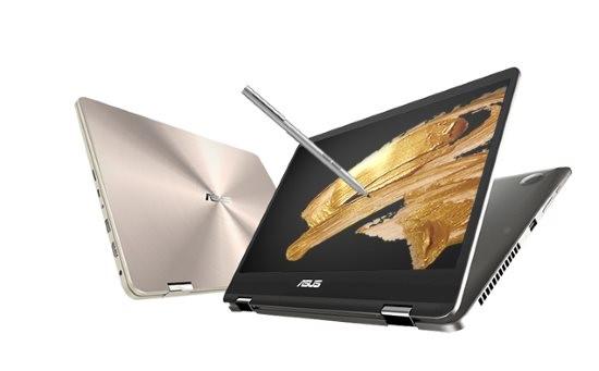 Două noi laptopuri Asus ZenBook Flip cu ecrane NanoEdge de 14 și 15 inci