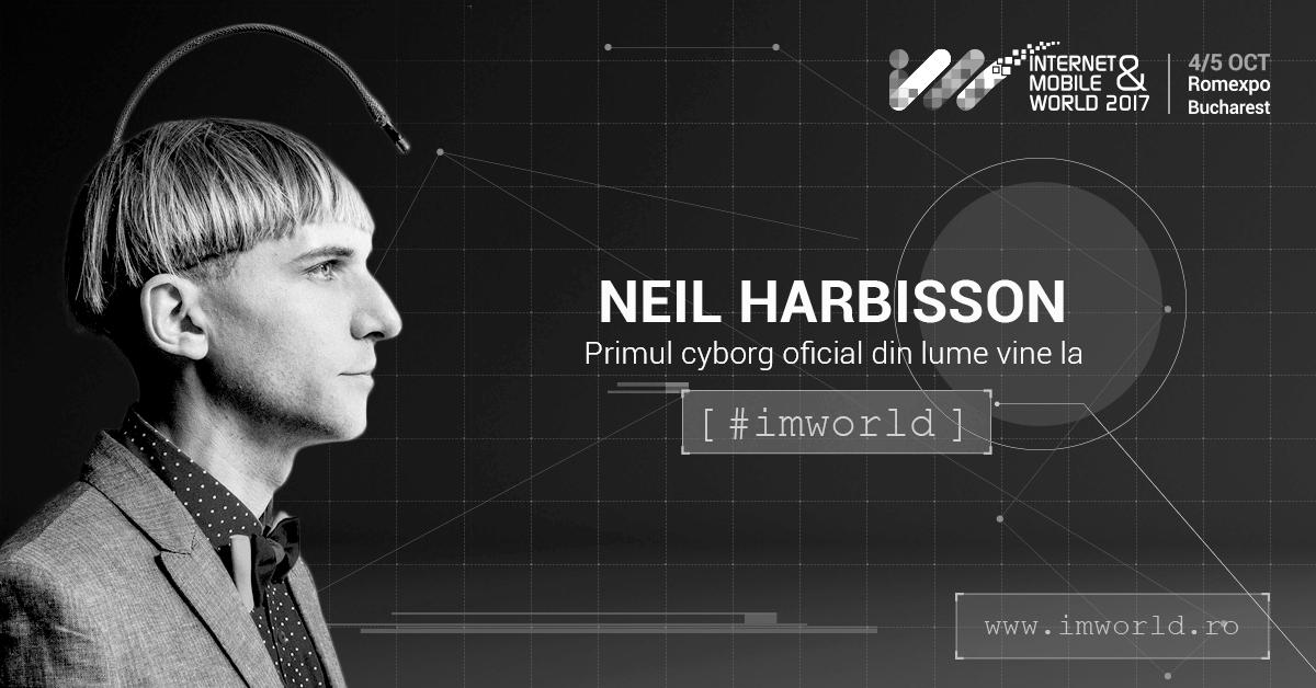 Primul cyborg din lume vine la IMWorld 2017