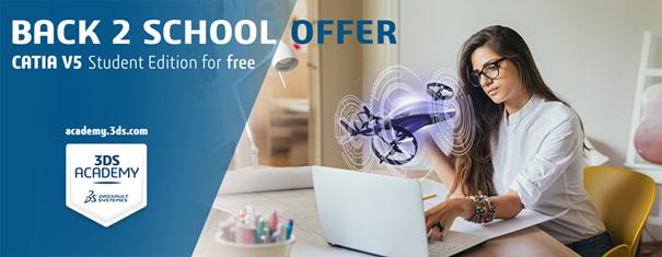 Licențe gratuite CATIA V5 pentru studenti