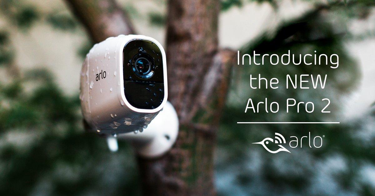 ARLO PRO 2, cameră de supraveghere cu rezoluţie 1080p HD