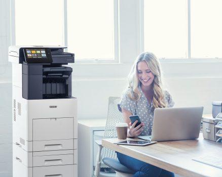 Noi echipamente de imprimare pentru birouri de mici dimensiuni
