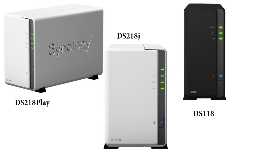 Synology® anunţă DiskStation DS218play, DS218j şi DS118