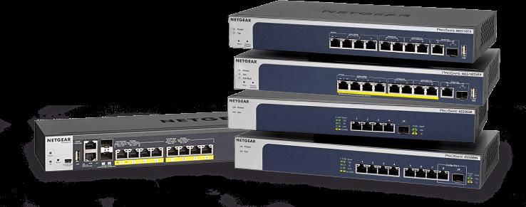 NETGEAR extinde portofoliul de switchuri 5-speed