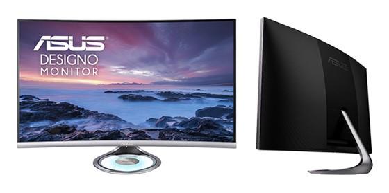ASUS lansează monitorul Designo Curve MX32VQ pentru divertisment