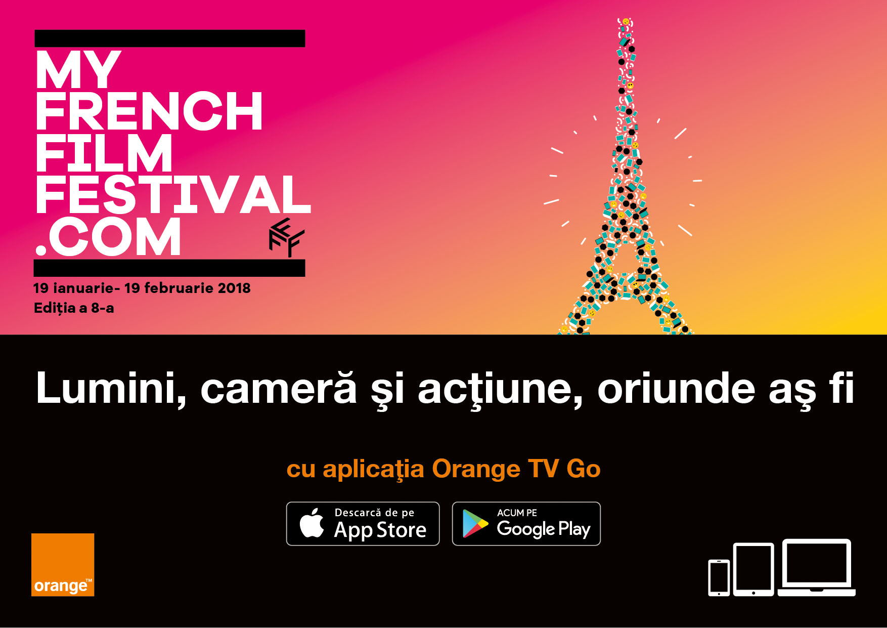 MyFrenchFilmFestival, festivalul online dedicat cinematografiei franceze, revine în România