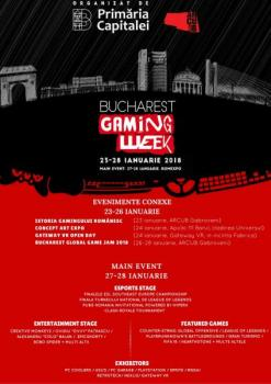 Bucharest Gaming Week, evenimentul pasionaților de gaming