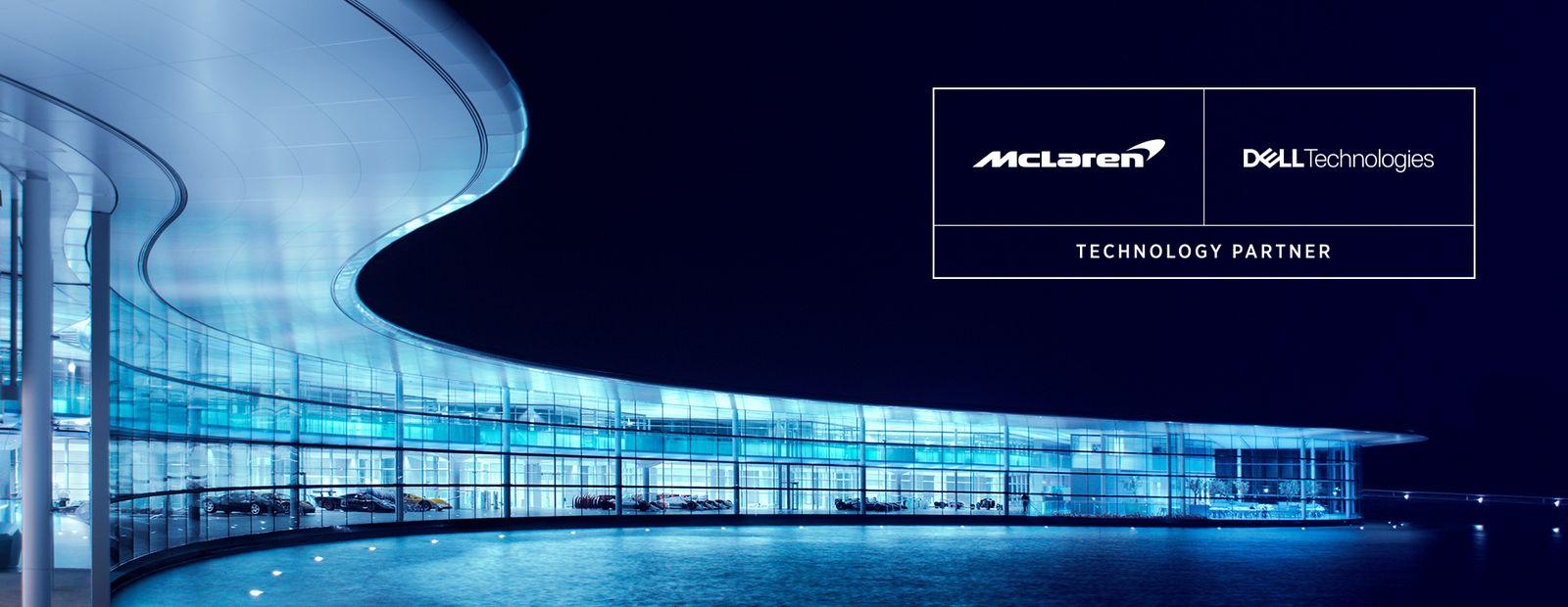 McLaren şi Dell Technologies încheie un parteneriat extins