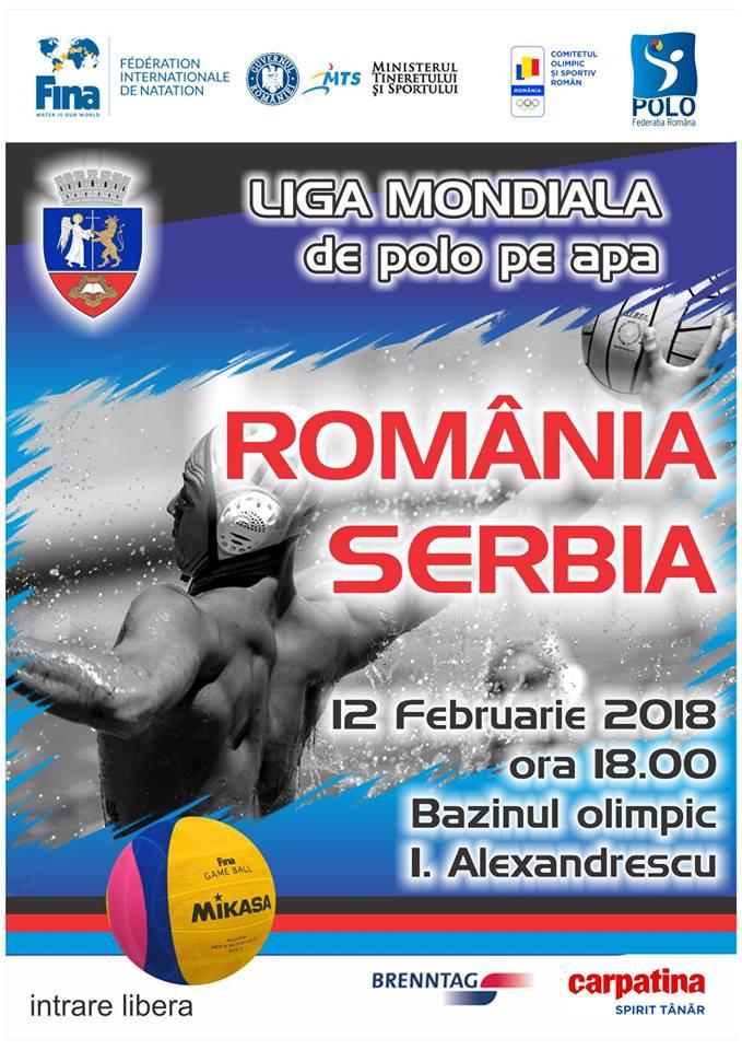 Axis transmite live meciul de polo România-Serbia
