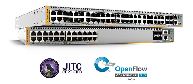Switch-urile Gigabit Layer 3 Allied Telesis din Seria x930 au primit  certificarea de conformitate Open Networking Foundation's OpenFlow®