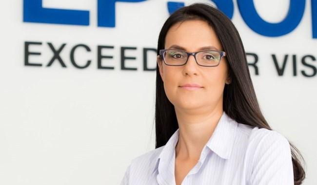 Simona Decuseară, Epson: Imprimantele cu jet de cerneală câștigă teren pe piața de printing