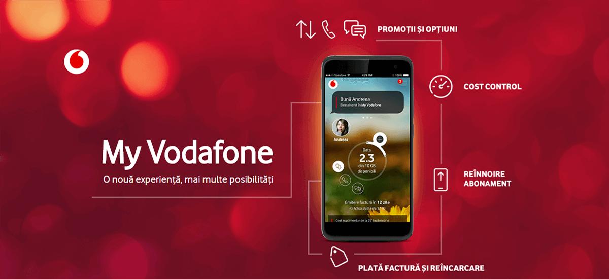 Utilizatorii aplicației My Vodafone răsplătiți cu premii zilnice
