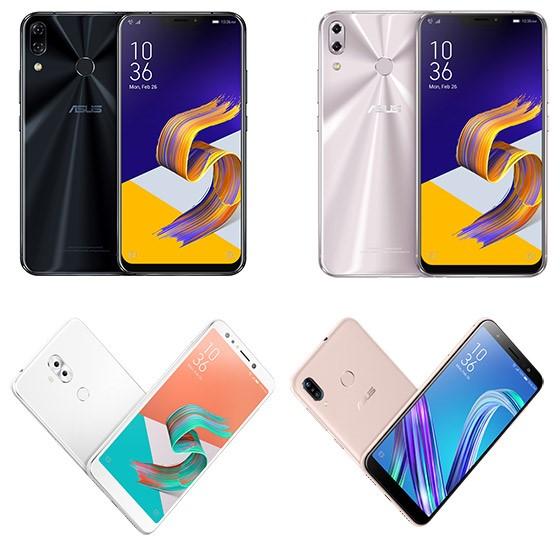 Noua serie de telefoane inteligente Asus ZenFone 5
